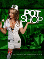 Pot Shop poster  by Judah Ray